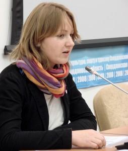 Семинар «Современная шведская литература». Ведущая – Лидия Стародубцева (Посольство Швеции в Москве).