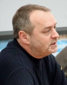 Писатель Игорь Сахновский.
