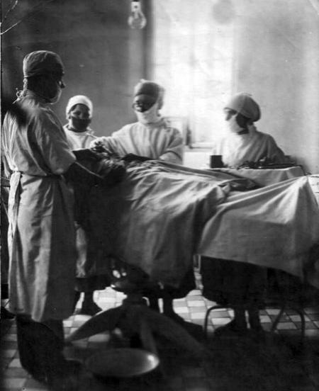 Д.И. Мальгин на операции
